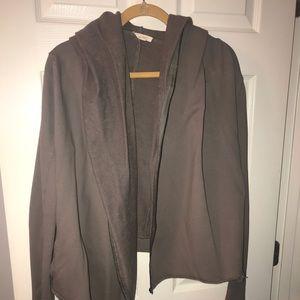 Mystree Olive Green Zip Jacket w/ Hood